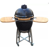 Patton Kamado Grill Medium 16'' Zwart