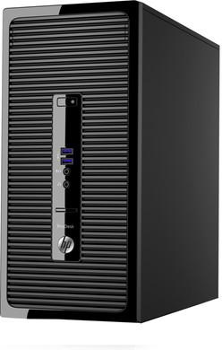 HP Prodesk 400 G3 i5-8GB-128SSD+1TB-730GT