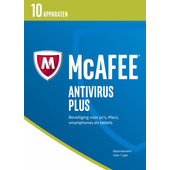 McAfee AntiVirus 2017 1 jaar abonnement / 10 apparaten