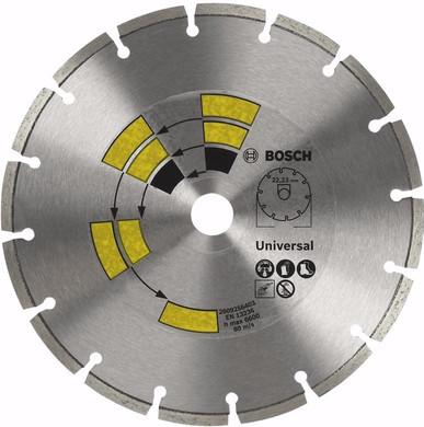 Bosch Diamantschijf Universeel 115 mm