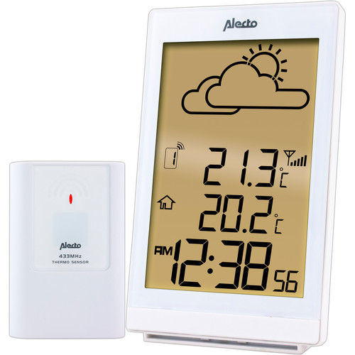 Alecto WS-2200 Weerstation Wit