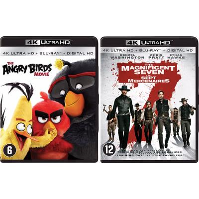 Blu-Ray bundel Angry Birds en Magnificent Seven