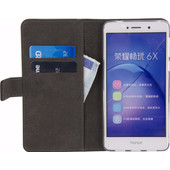 Mobilize Classic Gelly Wallet Honor 6X Book Case Zwart