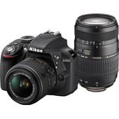 Nikon D3300 + AF-P DX 18-55mm + Tamron 70-300mm f/4.0-5.6