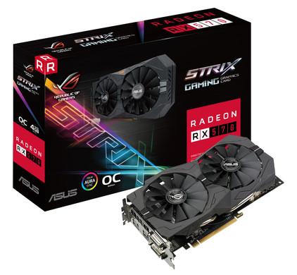 Asus ROG STRIX RX570 O4G Gaming