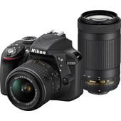 Nikon D3300 + AF-P DX 18-55mm + AF-P DX 70-300mm VR