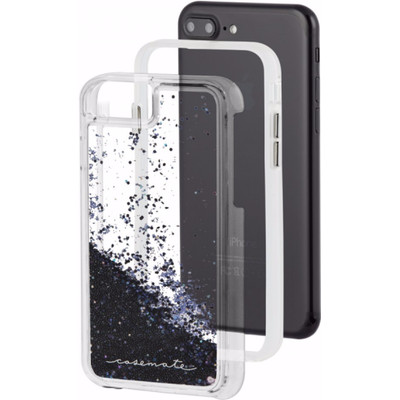 Case-Mate Waterfall Apple iPhone 6 Plus/6s Plus/7 Plus Back Cover Zwart