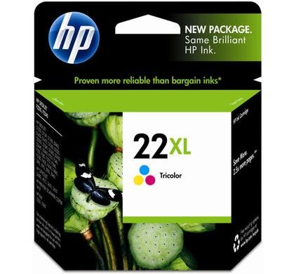HP 22XL Combo Pack 3-Kleuren (C9352CE)