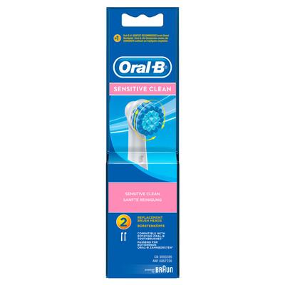 Opzetborstel Sensitive Clean 2 stuks