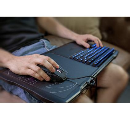 product in gebruik Sova MK Brown Gaming Toetsenbord QWERTY