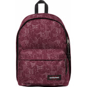 Eastpak Out Of Office Merlot Blocks