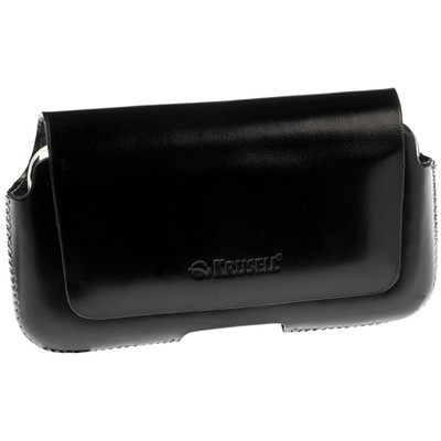 Krusell Leather Case Hector Black Large