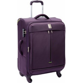 Delsey Flight 4W Expandable Trolley 65 cm Purple
