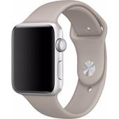 Apple Watch 42mm Siliconen Sport Polsband Beige