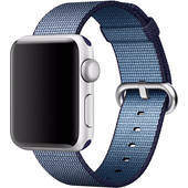Apple Watch 38mm Nylon Woven Polsband Blauw