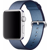 Apple Watch 42mm Nylon Woven Polsband Blauw