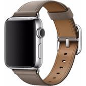 Apple Watch 38mm Klassiek Lederen Polsband Grijs