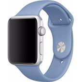 Apple Watch 42mm Siliconen Sport Polsband Blauw