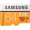 voorkant Samsung microSDXC EVO 64 GB 100MB/S