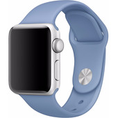 Apple Watch 38mm Siliconen Sport Polsband Blauw