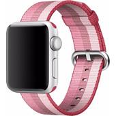 Apple Watch 38mm Nylon Woven Polsband Roze