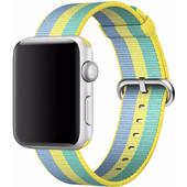 Apple Watch 42mm Nylon Woven Polsband Geel
