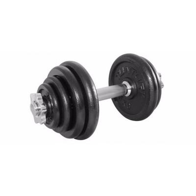 Tunturi Halterset - 15 kg - Zwart
