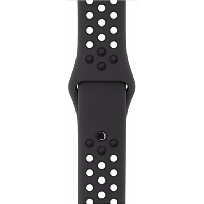 Apple Watch 42mm Polsband Nike Sport Antraciet/Zwart