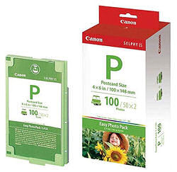 Canon E-P100 Selphy Easy Ink & Photo Pack