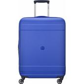 Delsey Indiscrete Hard Slim Cabin Trolley 55 cm Blue