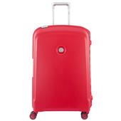 Delsey Belfort Plus 4 Wheel Trolley Case 70 cm Red