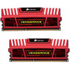 Corsair Vengeance 16 GB DIMM DDR3-1600 CL 10 rood 2 x 8 GB