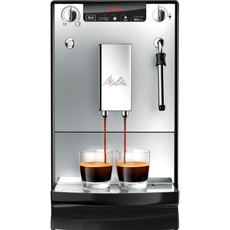 Melitta Caffeo Solo & Milk espressoautomaat zwart-zilver