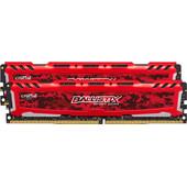 Crucial Ballistix 16 GB DIMM DDR4-2666 2 x 8 GB Rood