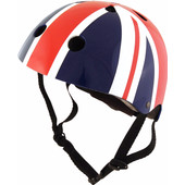KiddiMoto Kinderhelm Union Jack S