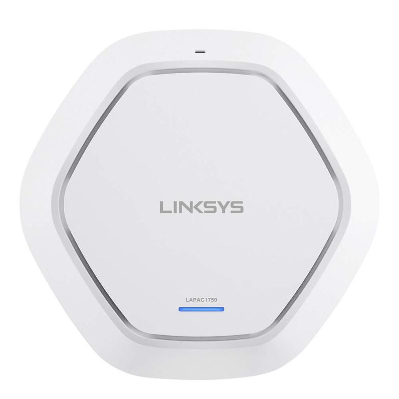 Linksys LAPAC1750-EU WiFi accesspoint 1.75 Gbit-s 5 GHz, 2.4 GHz