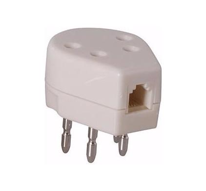 Profoon Telefoondubbelstekker modulair