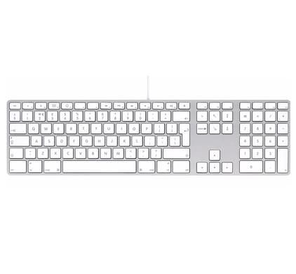 Apple Keyboard met numeriek toetsenblok QWERTY