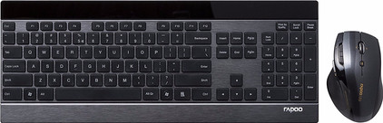Rapoo 8900P Draadloos Toetsenbord en Muis QWERTY