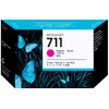HP 711 Ink Cartridge Magenta 3-Pack - 2