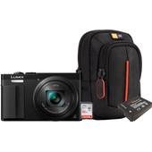 Starterskit - Panasonic DMC-TZ70 + Geheugenkaart + Tas + Extra Accu