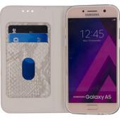Mobilize SE Premium Gelly Snake Samsung Galaxy A5 (2017) Book Case Grijs