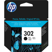 HP 302 Cartridge Zwart (F6U66AE)