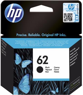 HP 62 Cartridge Zwart (C2P04AE)
