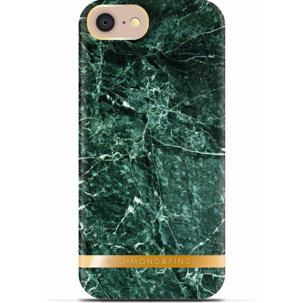 Richmond & Finch Marble Glossy Apple iPhone 7 Groen
