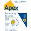 Apex Lamineerhoezen 125 micron A3 (100 stuks)