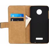 Mobilize Classic Wallet Book Case Lenovo Moto Z Zwart