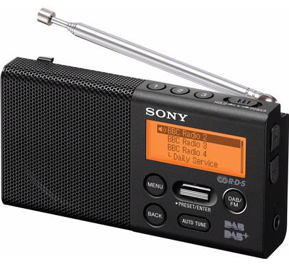 Sony XDR-P1DBP Zwart
