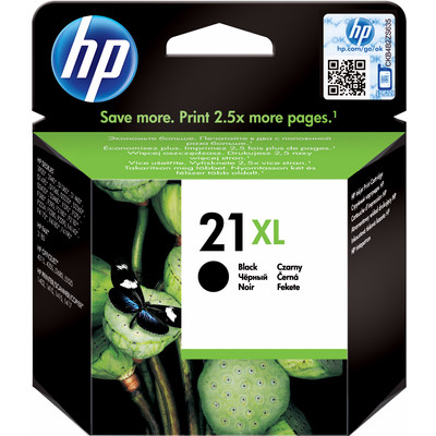 Inkcartridge c9351ce 21xl zwart hc