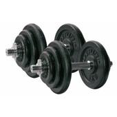 Tunturi Dumbbells 2x 20 kg